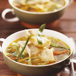 Vegetable and White Fish Broth