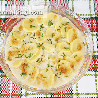 Baked Creamy Potato.