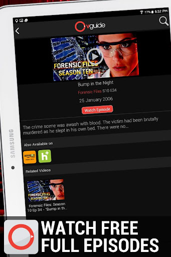 OVGuide - Free Movies & TV screenshot 11