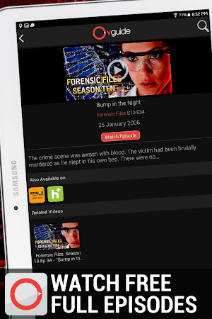 OVGuide - Free Movies & TV 3.3 screenshot 555011