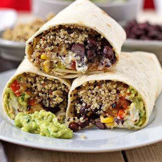 Vegetarian Mexican Wraps Recipes.