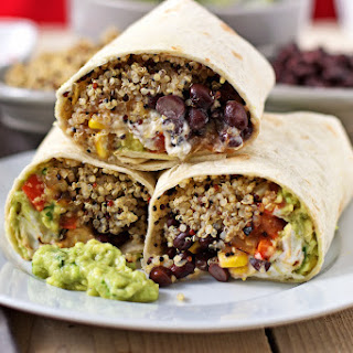 Vegetarian Mexican Wraps Recipes.