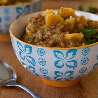 """Farro Risotto (From """"the Healthy Italian"""") Recipe"""