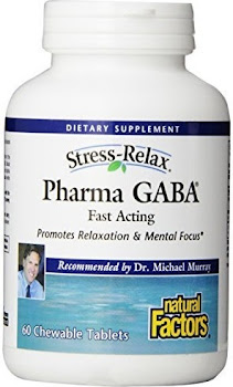 Natural Factors Stress-Relax Pharma GABA