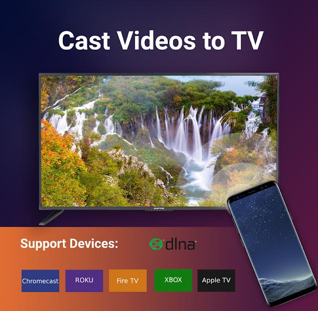 Cast TV for Roku/Chromecast/Apple TV/Xbox/Smart TV on Google