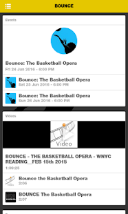 BOUNCE The Basketball Opera - náhled