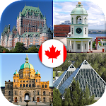 Canada Provinces & Territories - Canadian Quiz Icon