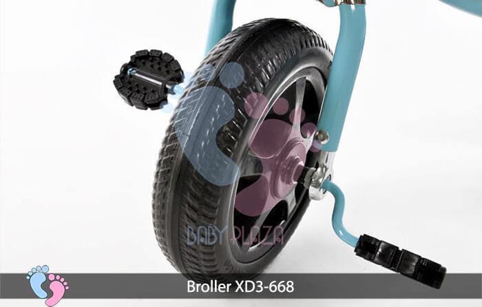 Xe đạp 3 bánh Broller XD3 668 7