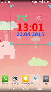 Weather Clock screenshot 3