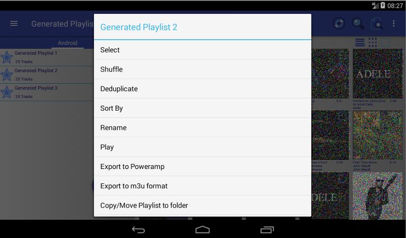 New Playlist Manager Screenshot 14