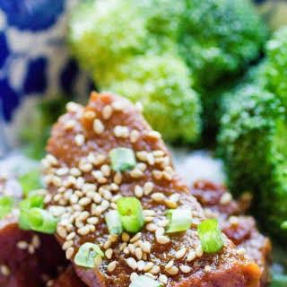 Instant Pot Pork Tenderloin Teriyaki.