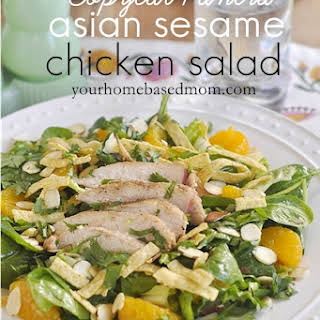 Copycat Panera Asian Sesame Chicken Salad.