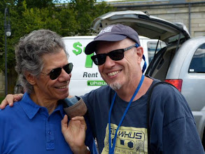Photo: Ken and Chick Corea photo by Claire Laster