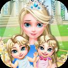 Princess Elsa Twins Care icon