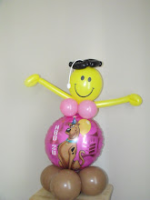Photo: Smiley with a message (message balloon can be changed