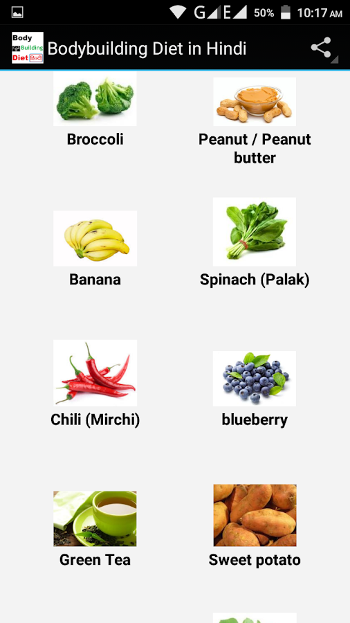 Bodybuilding diet in hindi android apps on google play bodybuilding diet in hindi screenshot ccuart Images