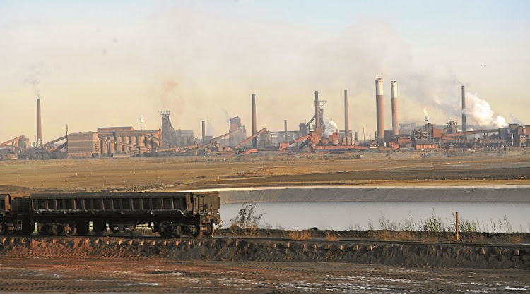 The works: ArcelorMittal SA's steel plant outside Vanderbijlpark is a significant asset of the company. Picture: BUSINESS DAY/RUSSELL ROBERTS