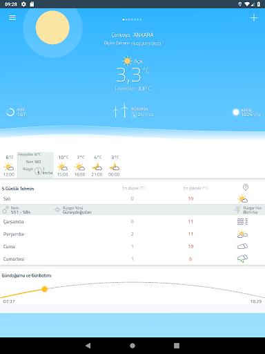 Meteoroloji Hava Durumu 6.1.8 Screenshots 11