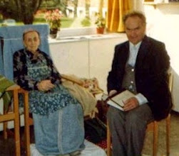 Photo: Thea and her son Anker at Oyna. Thea is my maternal grandfather's cousin. Anker is Terje Ostrem's father