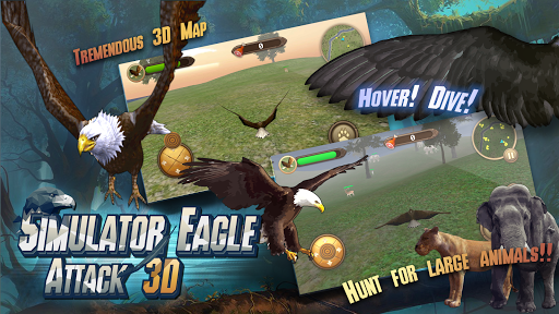 Simulator Eagle Attack 3D