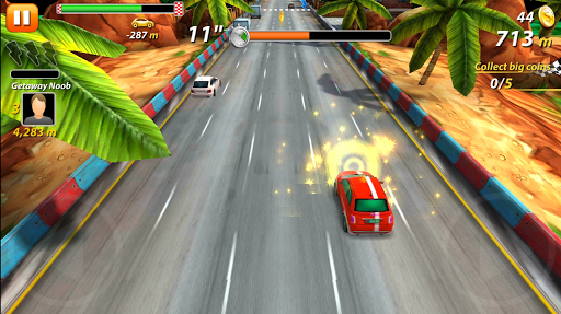 Smashing Raging Race - screenshot