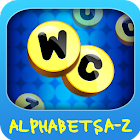 Wordz Club A-Z Letter icon