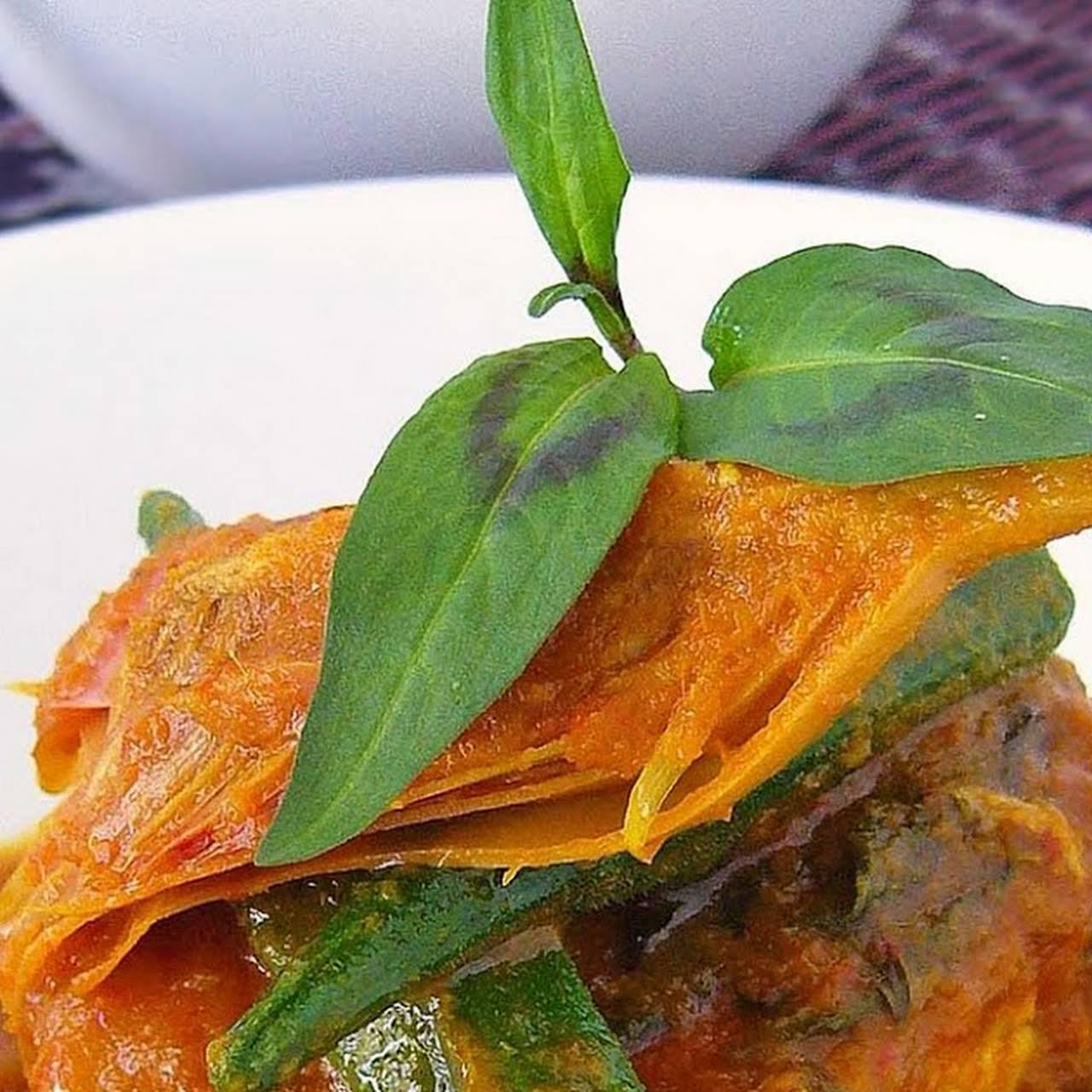 Asam Pedas Nyonya/Fish in Spicy Tamarind Sauce