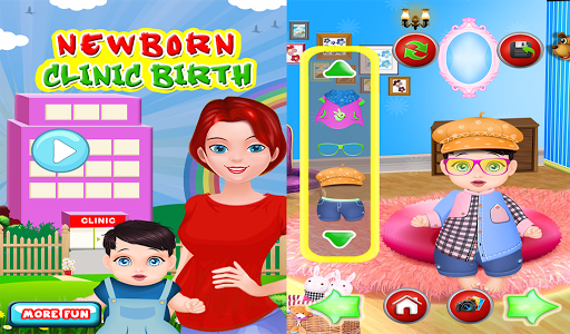 玩休閒App 刚出生的婴儿诊所游戏免費 APP試玩