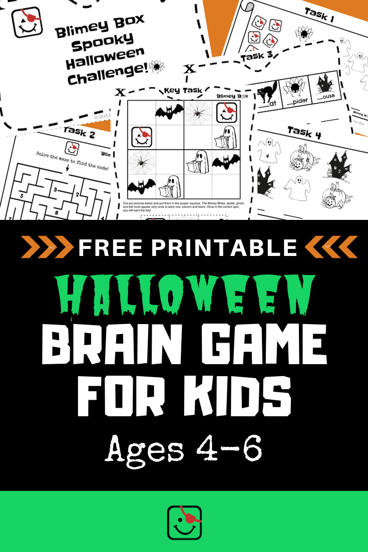 Try the Halloween Brain Game