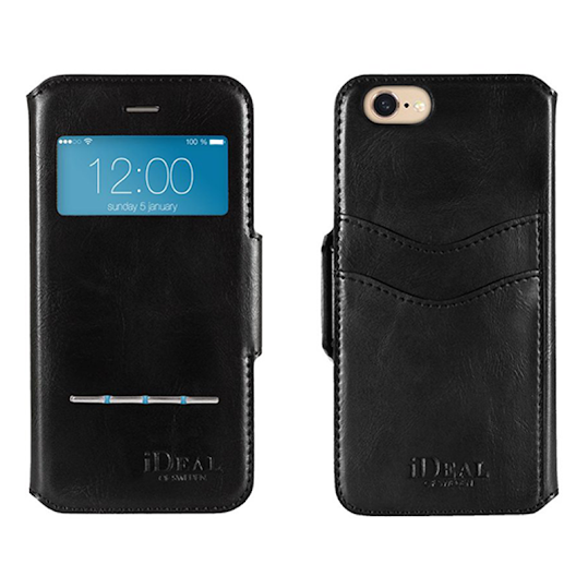 iDEAL Swipe Wallet iPhone 7/8 Svart