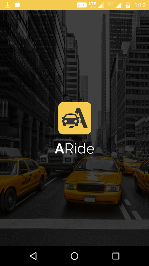 ARide Driver- screenshot
