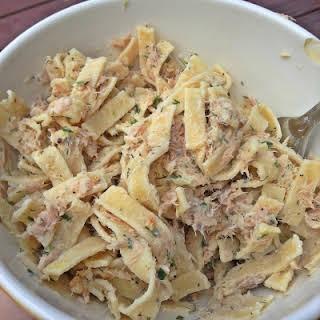 Low Carb Tuna Pasta Salad.