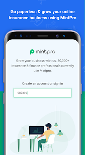 MintPro – Insurance Business App Download For Android 1
