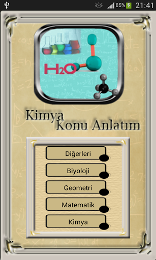 LYS YGS Kimya Konuları Anlatım