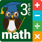 Three Second MATH for Kids