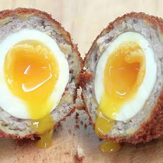 Low Carb Breakfast Recipe - Scotch Eggs.