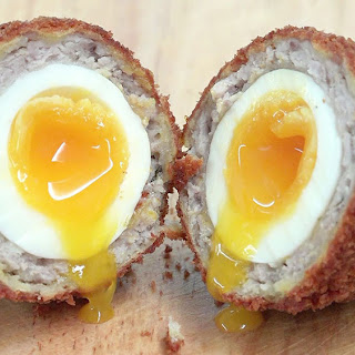 Low Carb Breakfast Recipe - Scotch Eggs.