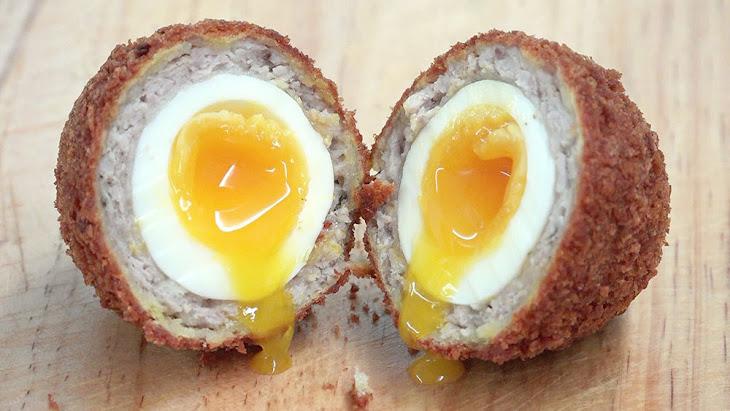 Low Carb Breakfast Recipe - Scotch Eggs