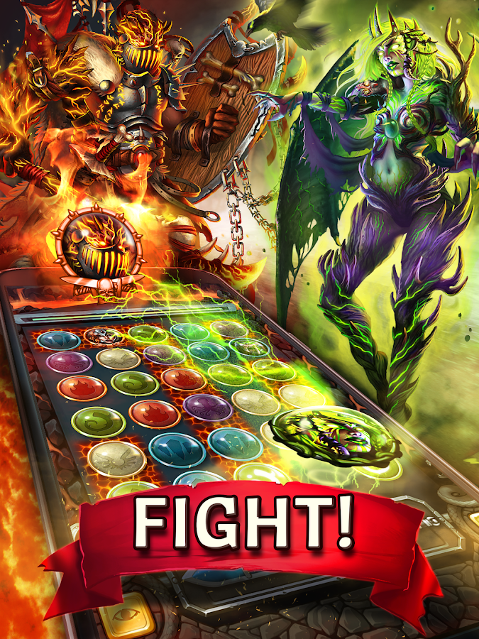Magic Heroes 3D: PvP RPG game. Warriors & dragons!- screenshot