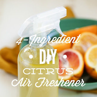 4-Ingredient DIY Citrus Air Freshener.