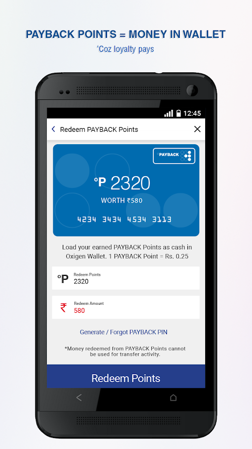 Oxigen Wallet Mobile Payments Android Apps On Google Play