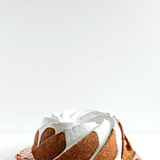 Meyer Lemon and Vanilla Pound Cake with Sour Cream Glaze