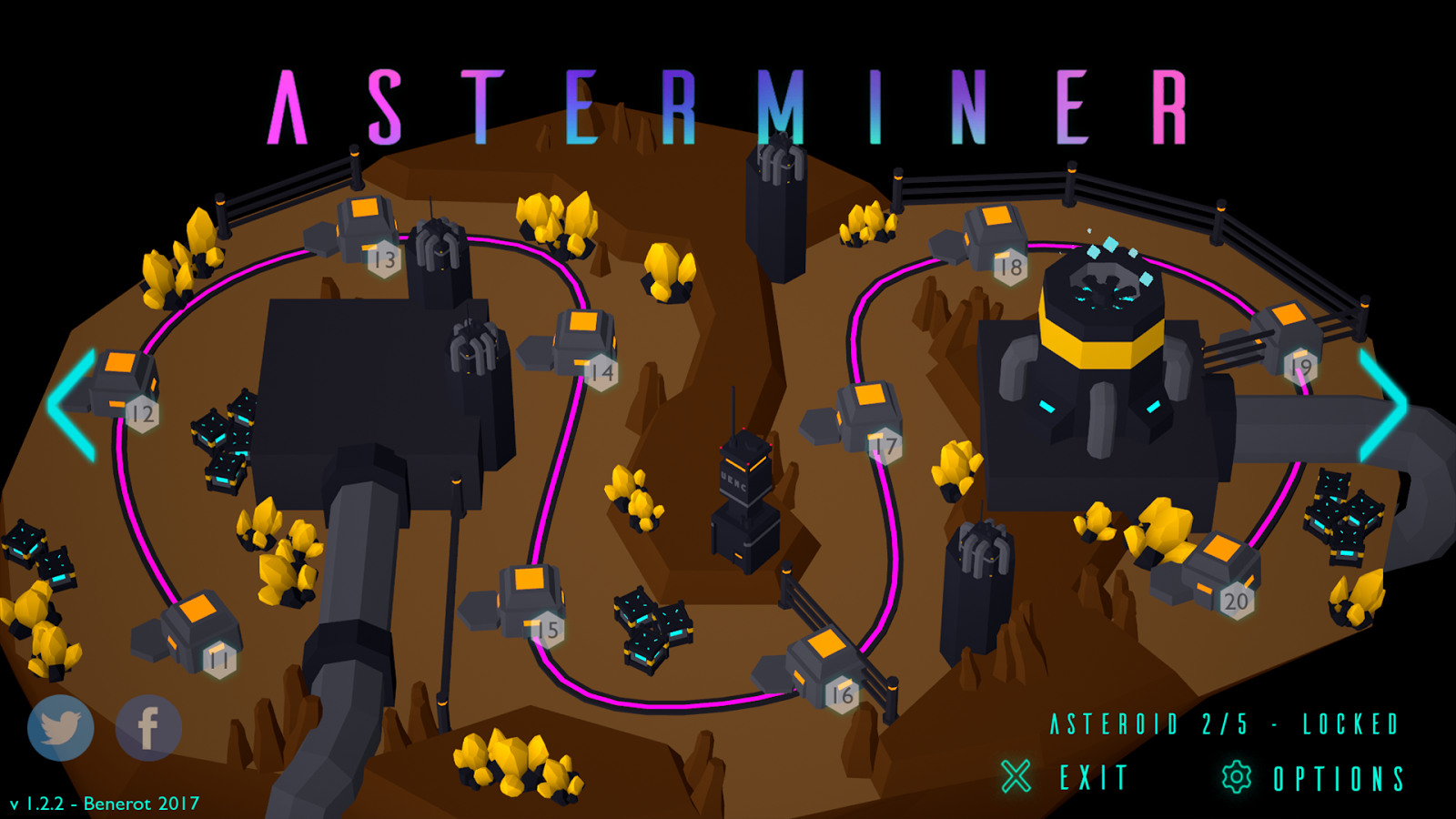 AsterMiner- screenshot