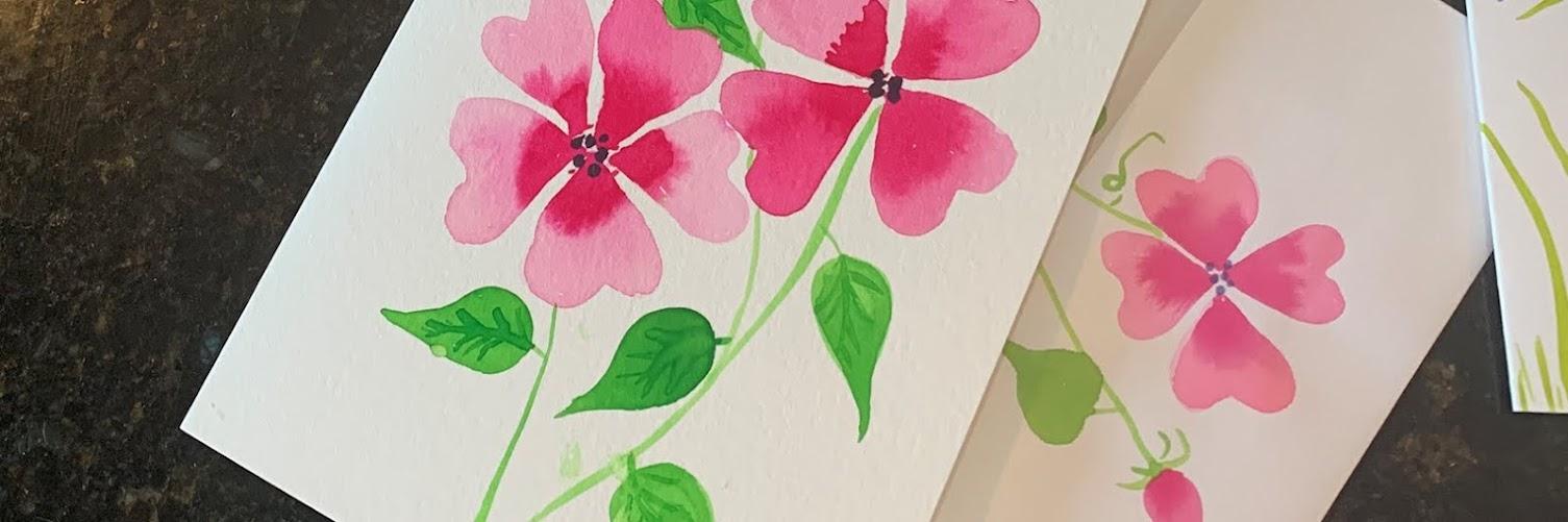 Watercolor Notecards