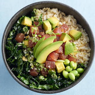 California Avocado & Ahi Poke Bowl.