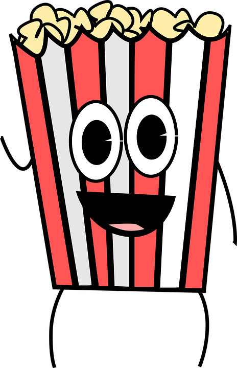 Free vector graphic: Cartoon, Food, Movies, Popcorn - Free Image ...