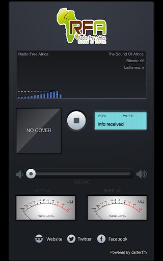 Radio Free Africa 1.0.2 screenshots 3