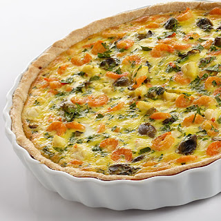 Seafood Lovers Quiche.