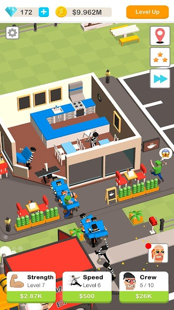 Idle Robbery Android App Screenshot