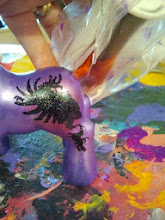 Photo: My little pony decorate your own blank pony